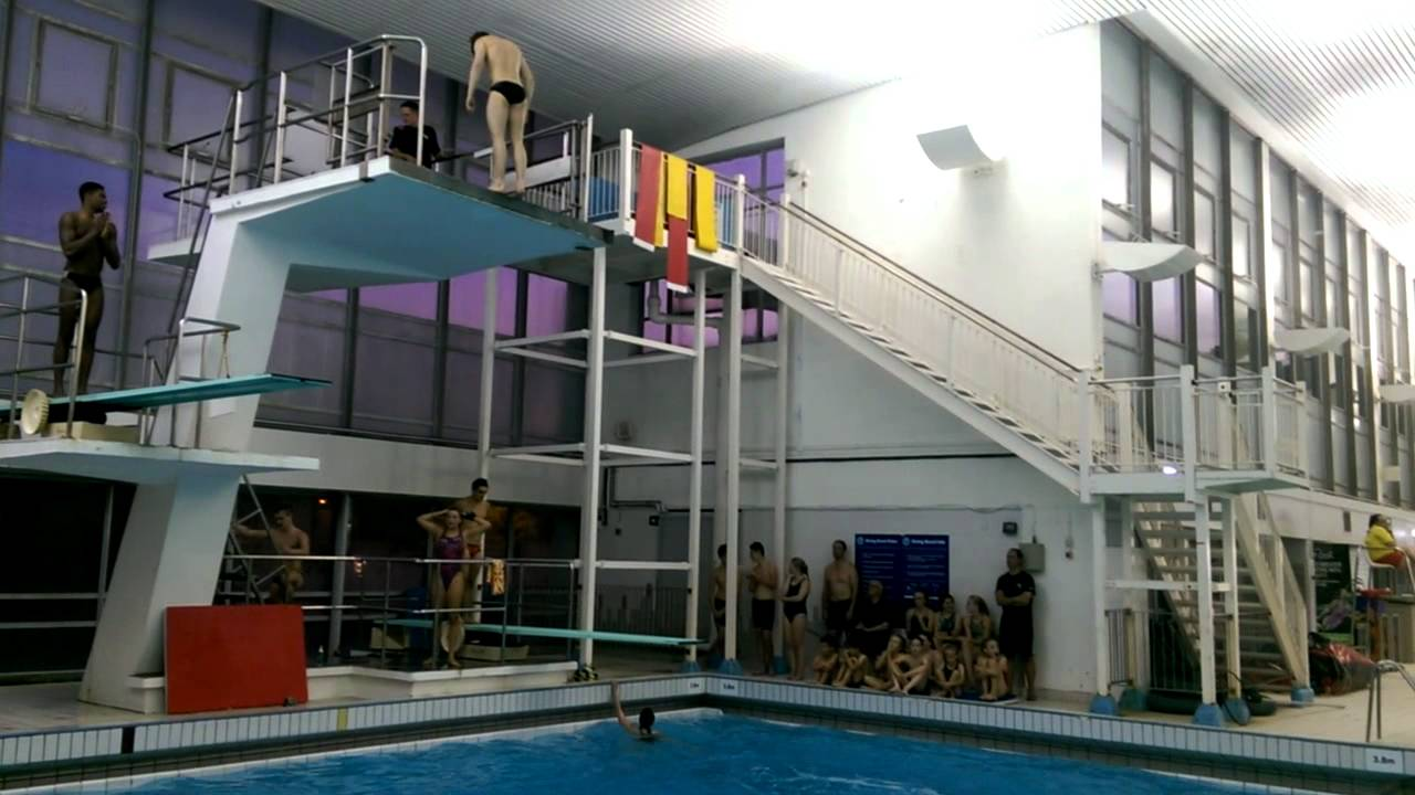 Chris Mears And Yona Knight Wisdom Diving At Riverside Leisure Centre In Chelmsford Youtube