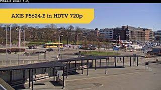 AXIS P5624-E MkII vidéo