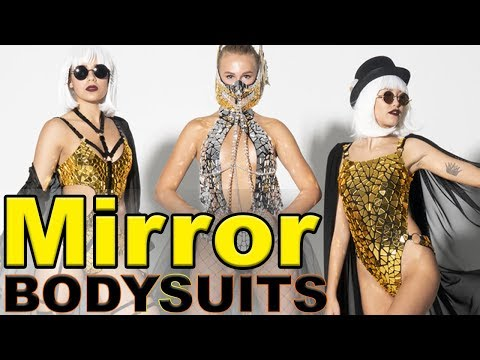 Gold And Silver Mirror Bodysuits By ETERESHOP
