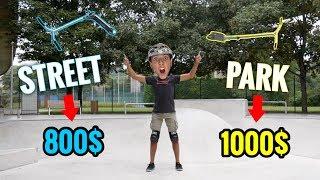 SCOOTER CHECK | 800$ STREET VS 1000$ PARK