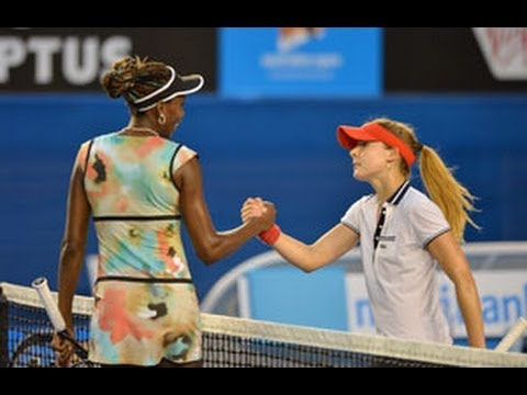Venus Williams vs Alize Cornet AO 2013 Highlights