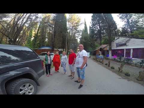 Поездка на машине Сочи-Абхазия часть вторая