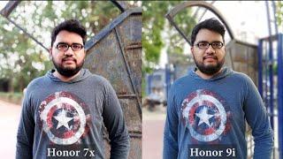 Honor 7X vs Honor 9i Camera Comparison