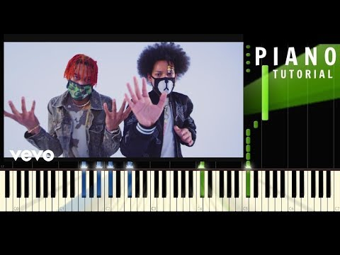 Ayo & Teo  Rolex  Piano EASY Tutorial    Synthesia