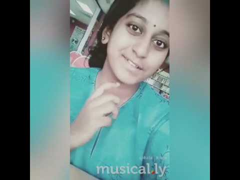 Tamil girl Musical.ly (Usuraiya tholaichaen)