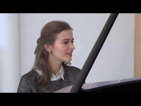 Anna Sutyagina plays Accidental Etude by Milana Zilnik
