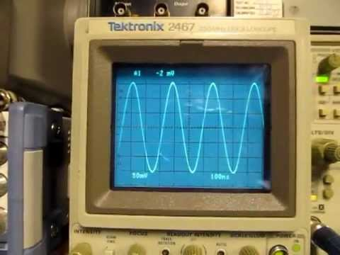 #46: Basics of amplitude and distortion measurements on a scope and spectrum analyzer