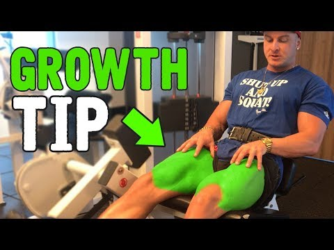 Leg Extension Tip! (Do This For More GROWTH!)