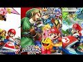 Super Smash Bros. for Wii U & Nintendo 3DS, Mario Kart 8 & 7 (4-25-15 Livestream) - Wii U & 3DS