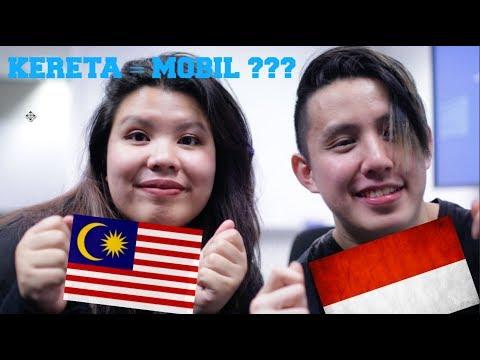 Bahasa Challenge: INDONESIA VS MALAYSIA - Same language?