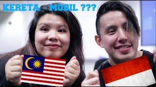 Bahasa Challenge: INDONESIA VS MALAYSIA - Same language?