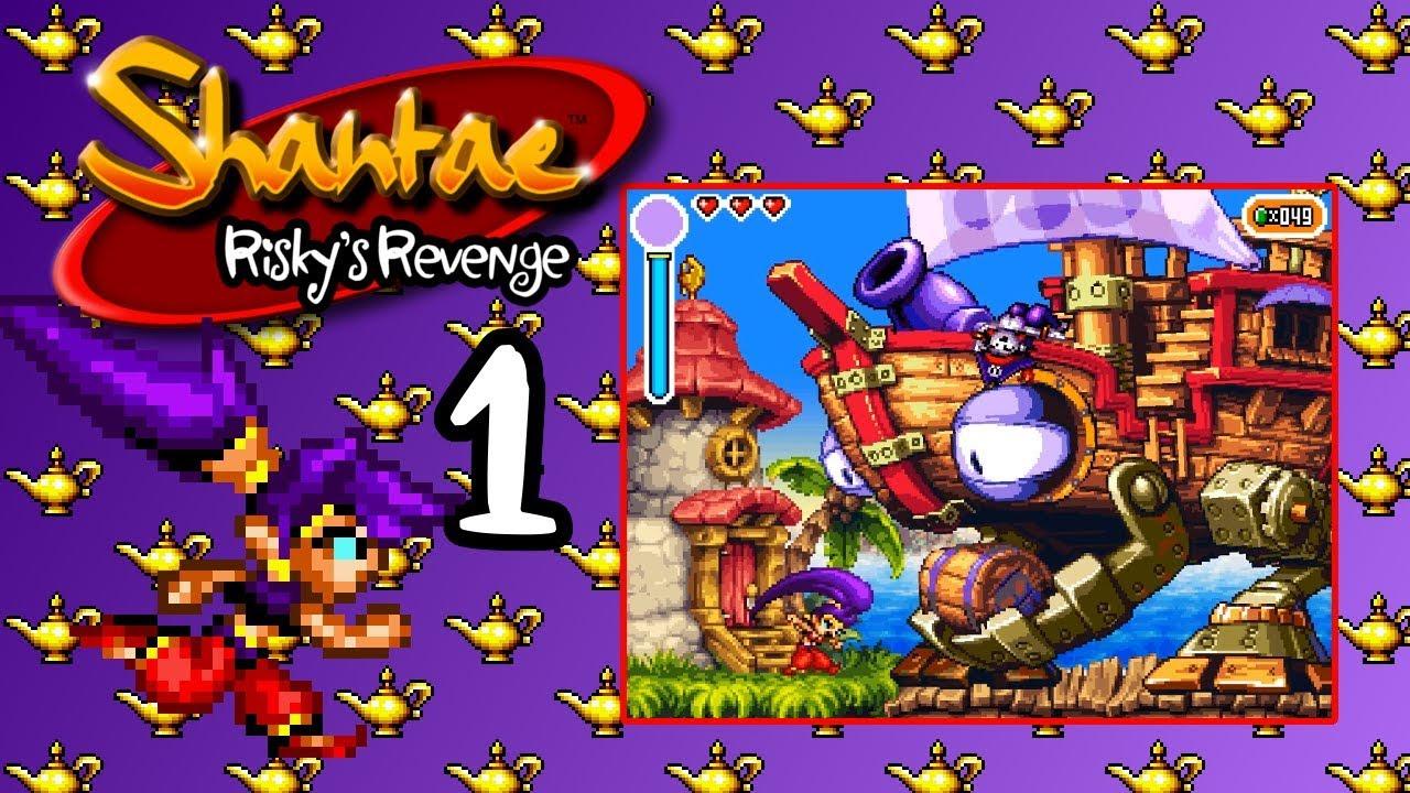 Shantae: Riskys Revenge - Directors Cut whips up a storm