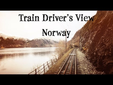 Train Driver's View: Afternoon commuter train