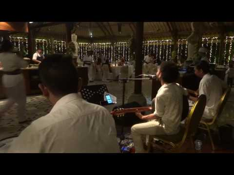 Treasure by Bruno Mars (Covered) at Wedding Reception Acoustic Band