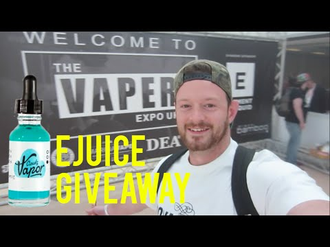 UK'S BEST VAPER EXPO UK BIRMINGHAM 2016 VAPE GIVEAWAY! ! !