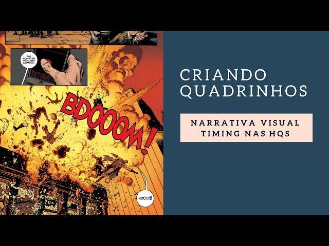 Tutorial - Narrativa Visual - Timing nas Histórias em Quadrinhos