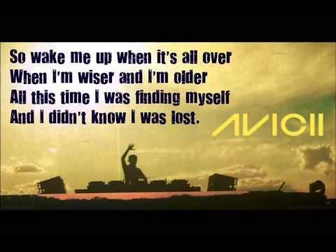 Avicii wake me up lyrics
