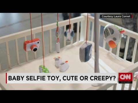 Toy lets babies take their own selfies
