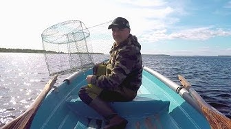 Kasataan ja testataan 10€ katiska | Katiskakalastus