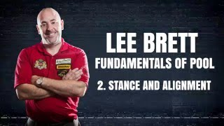 APA Lee Brett Billiard Instruction - Pool Lesson 2 - How to have perfect Stance & Alignment