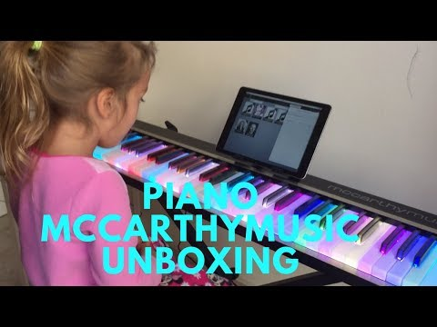 Piano MCCARTHY MUSIC Unboxing