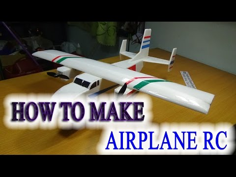 How To Make A Airplane RC The Twins - Cargo Plane