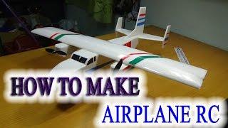 Hoe maak je een Vliegtuig RC De Tweeling - de Lading van het Vliegtuig