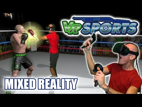 VR Sports Gameplay in Mixed Reality and Steam Key Giveaway of this nice VR sports experience!