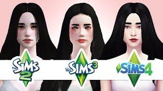 SIMS 2 & SIMS 3 & SIMS 4 / CAS / Создание персонажа