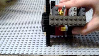 Lego RECIPROCATING MOTION Machine