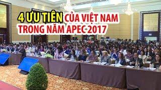 4 ưu tiên của chủ nhà Việt Nam trong năm APEC 2017