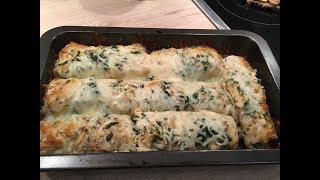 Готовим быстро и вкусно.Блины запеченные с сыром