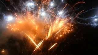 Фейерверк 8 сентября 2013г., Москва. Пиротехническое шоу Groupe F на Поклонной горе (часть 2)