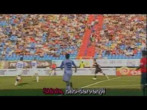 Hymna SK Slavia Praha - Slavie bíločervený! + text (lyrics)