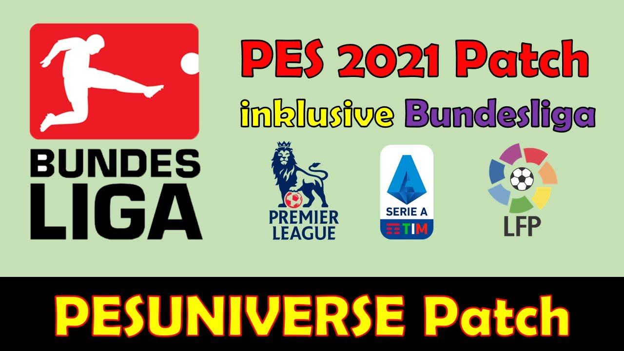 Pes 2021 Patch Bundesliga