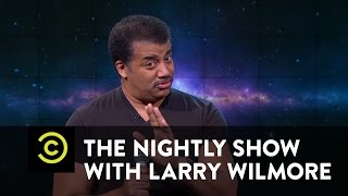 vuclip The Nightly Show - Neil deGrasse Tyson Slams Flat-Earth Theorist B.o.B