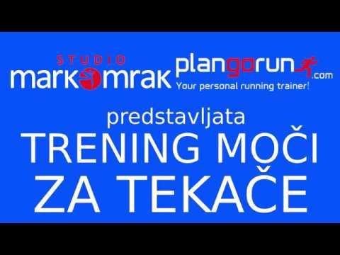 Trening za tekače - razvoj moči