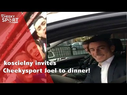 Koscielny invites Cheekysport Joel for dinner to celebrate beating Spurs | Arsenal 2-0 Tottenham
