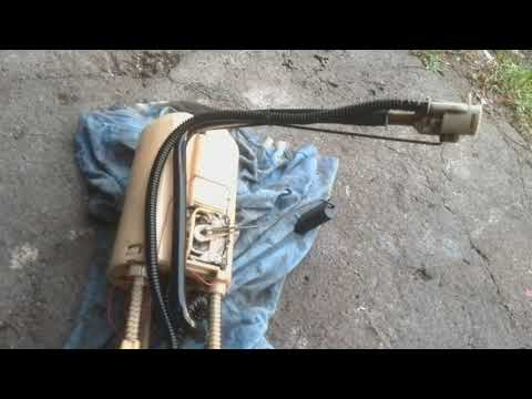 Разборка топливного насоса на Мерседес МЛ320 W163