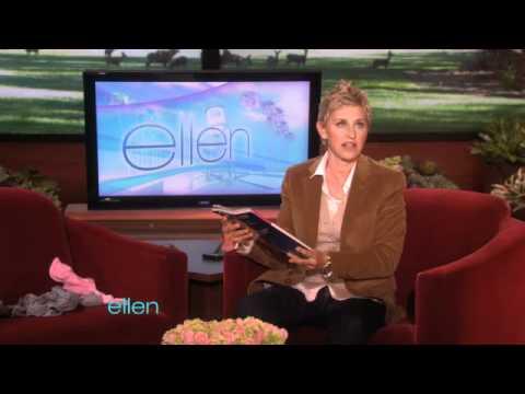 Ellen Prepares for 'O'!