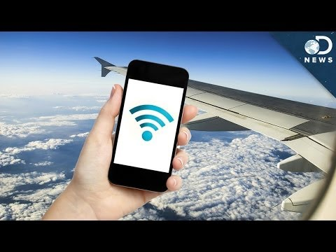 How WiFi Works On Planes