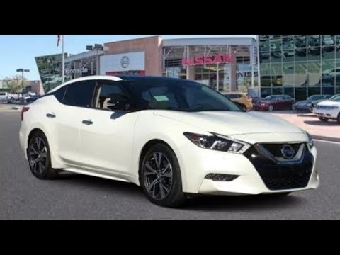 2018 Nissan Maxima Platinum Full Review - Interior ...