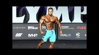 2017 Men's Physique Olympia Champion, Jeremy Buendia