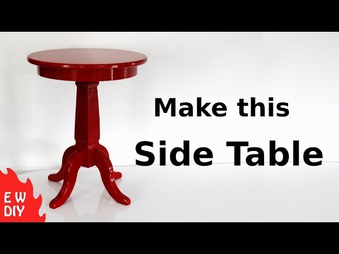 DIY Side Table.