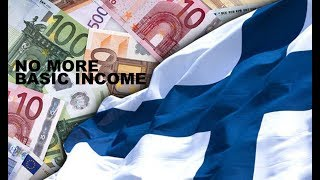Finns Finished With UBI (Universal Basic Income)