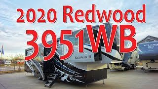 NEW DESIGN: 2020 Redwood 3951WB Luxury Fifth Wheel RV Walk Through & Review - ExploreUSA - 4k UHD