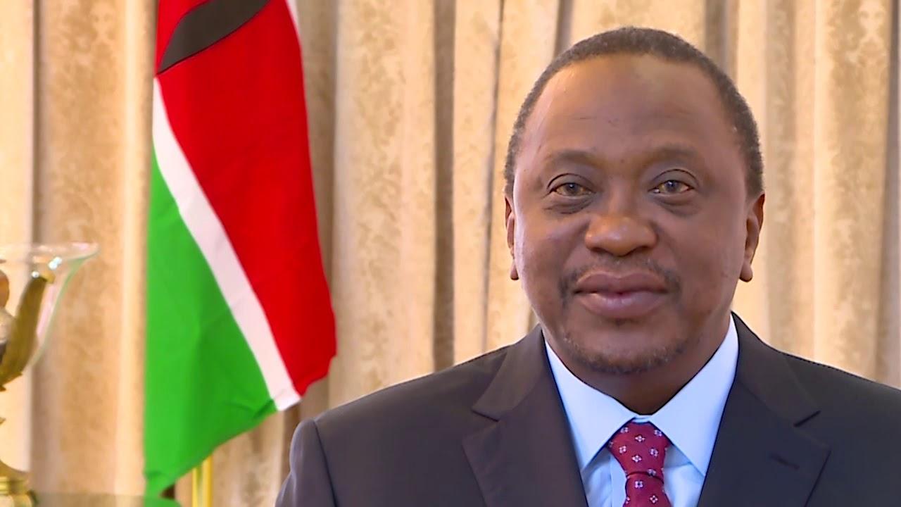 His Excellency President Uhuru Kenyatta congratulates the ...