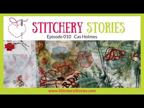 Cas Holmes: Textile Artist & Tutor: Found-Stitch-Paint