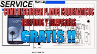 COMO DESCARGAR PLANOS ESQUEMATICOS DE TELEFONOS Y TELEVISORES..... GRATIS!!!!!