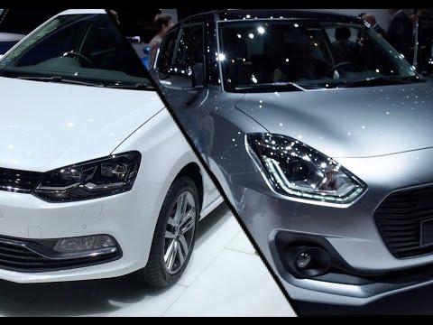 2016 Volkswagen Polo vs. 2017 Suzuki Swift